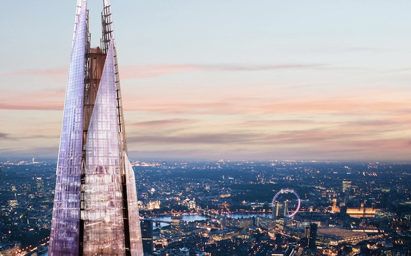 Le Shard à Londres – La plus grande tour d'Europe